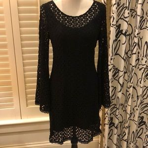 Free People black dress with self lining